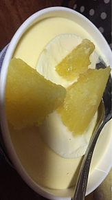 焼き芋+バニラアイス プリ画像