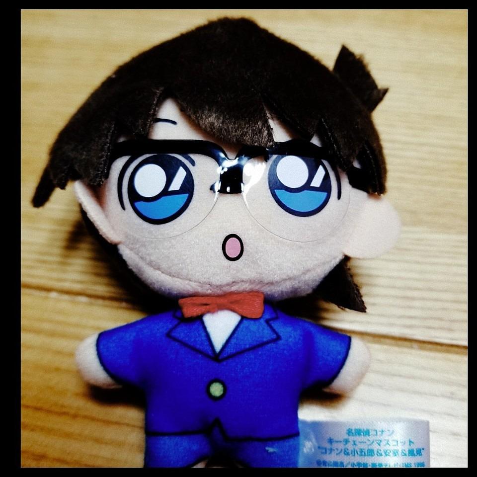 名探偵コナンの人形です。