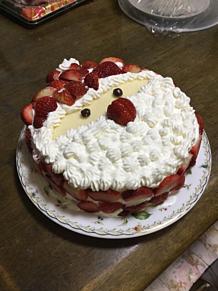 サンタケーキ プリ画像