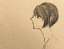 横顔の画像(プリ画像)