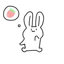 リクエスト うさぎさんの画像(うさぎ イラスト シュールに関連した画像)
