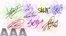 AAAサイン(千晃入り)の画像(AAA サインに関連した画像)