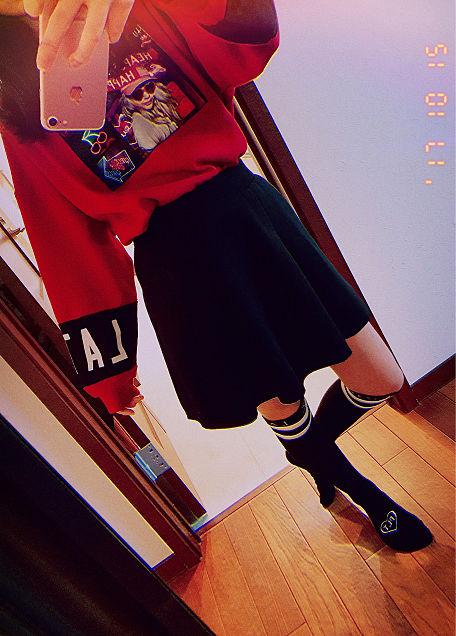 秋コーデの画像 プリ画像