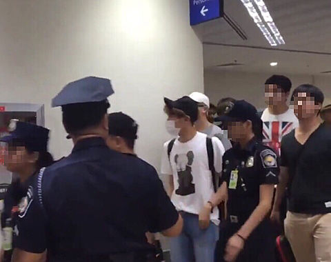 BTS♡マニラ ニノイ アキノ空港の画像 プリ画像