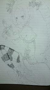 描き途中のベアトリス様💕の画像(Re.ゼロから始める異世界生活に関連した画像)