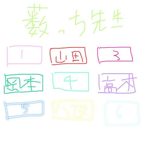 JUMP座席表の画像(プリ画像)