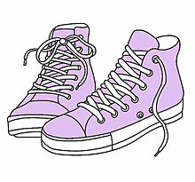 紫の画像(スニーカーに関連した画像)