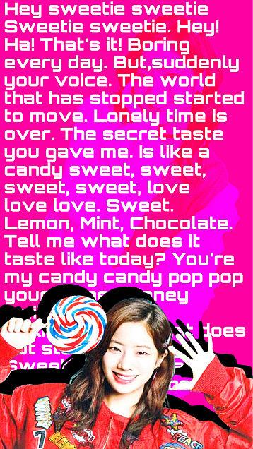 Candy Pop -DAHYUN-の画像 プリ画像