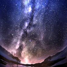 綺麗星空5の画像(綺麗 天の川に関連した画像)