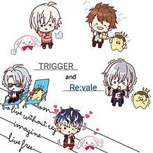 ぷちスタンプ TRIGGER & Re:vale