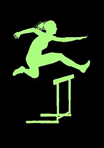 陸上 hurdleの画像(ハードルに関連した画像)
