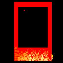 チェキフレーム  煉獄杏寿郎 プリ画像