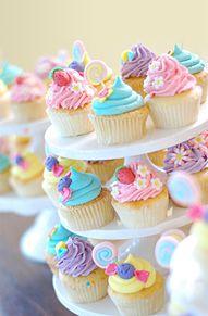 カップケーキの画像(苺 壁紙に関連した画像)