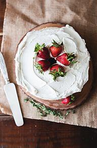 ケーキの画像(苺 壁紙に関連した画像)