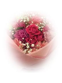 花束の画像(かすみ草に関連した画像)