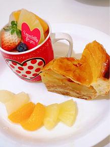 大好きなアップルパイの画像(果物に関連した画像)