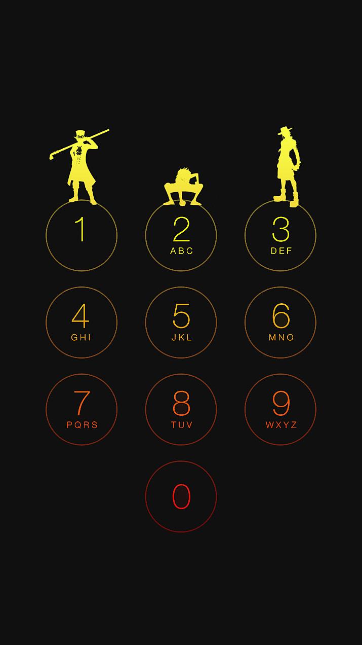Iphone6 待ち受け画面 ワンピース 盃三兄弟 52730725 完全無料画像