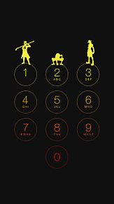 iphone6 待ち受け画面 ワンピース 盃三兄弟の画像(プリ画像)