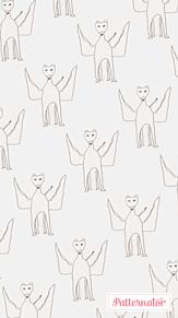 画伯シリーズ - ペガサス(壁紙用)の画像(プリ画像)