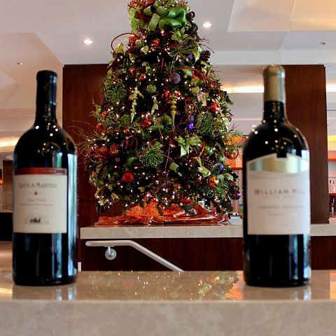 ワイン/クリスマスツリー/クリスマスの画像(プリ画像)