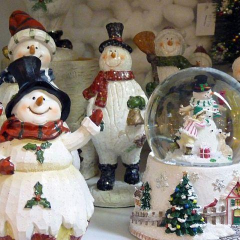 クリスマス/雪/冬/雪だるま/白/スノードーム/キレイの画像(プリ画像)
