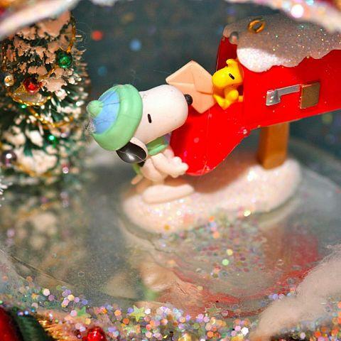スヌーピー/キラキラ/クリスマス/キレイの画像(プリ画像)