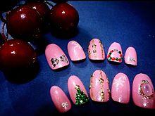 クリスマスネイル ウインターネイル プリ画像