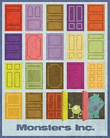 マイク モンスターズインク ドアの画像4点 完全無料画像検索の