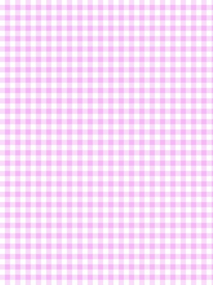 ギンガムチェック 背景 ピンクの...