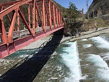 長野県 赤い橋 山の画像(赤い橋に関連した画像)