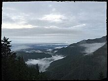三峯神社からの景色  プリ画像