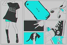 Two Color プリ画像