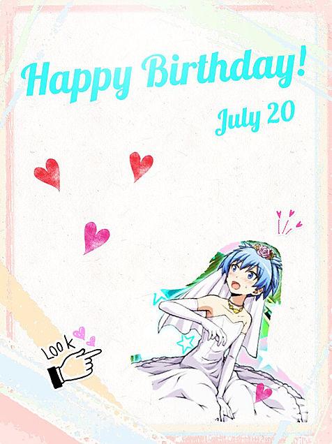 渚 Happy Birthday!!の画像 プリ画像