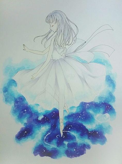 白い妖精(?)の画像(プリ画像)