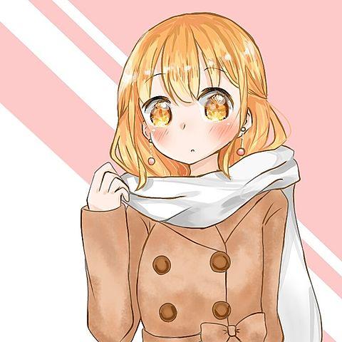 コート着た女の子の画像(プリ画像)