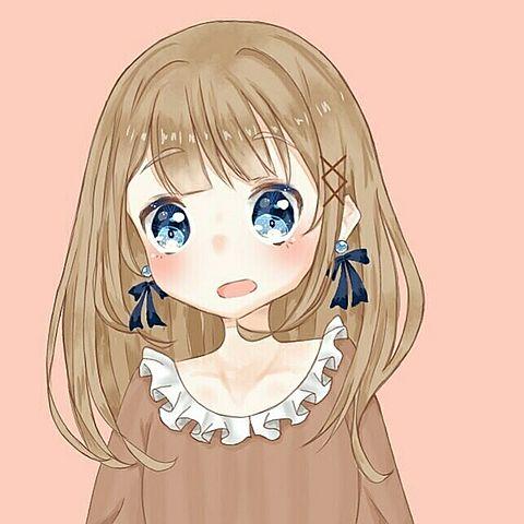 青眼の女の子✨の画像(プリ画像)