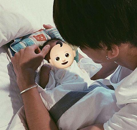 """しゅんくん❤︎""""&babyの画像(プリ画像)"""