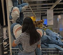 サメさん🦈の画像(IKEAに関連した画像)