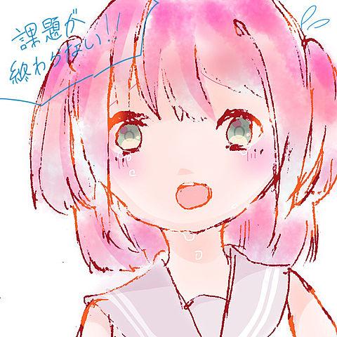 夏休みが終わる〜💦💦💦の画像(プリ画像)