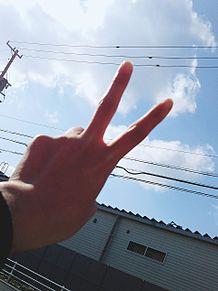 空と、手✌️の画像(空に関連した画像)