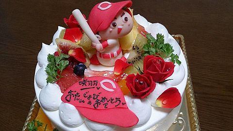 誕生日ケーキ(*´˘`*)♥の画像(プリ画像)