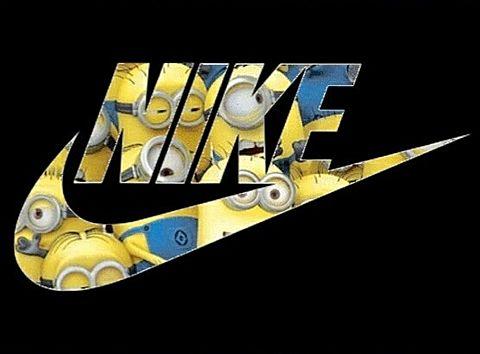 Nike×ミニオンの画像(プリ画像)