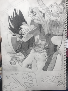 Dragon Ball Super Manga Goku Black Goes Super Saiyan Rośe For The