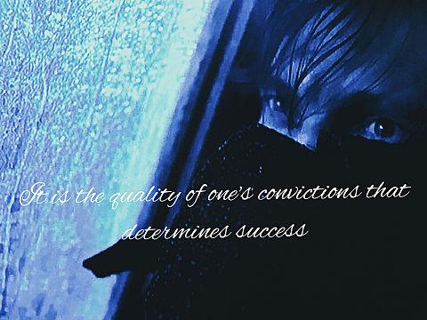 勝敗を決めるのは人の多さにあらず、一人一人の決意の固さなり。の画像(プリ画像)