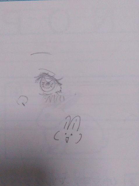 テスト勉強中にこっそり書いた絵です(  °-°  )の画像 プリ画像