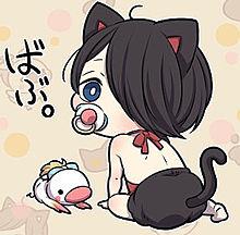 黒猫少年の画像(プリ画像)