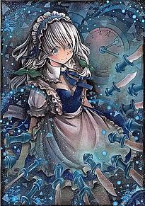 東方咲夜の画像(かわいい 咲夜に関連した画像)