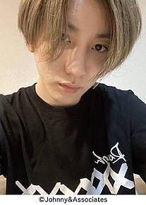 京本大我ブログ保存の際は♡をの画像(ブログに関連した画像)