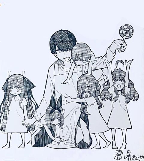五等分の花嫁 【画像保存←いいね👍】の画像(プリ画像)