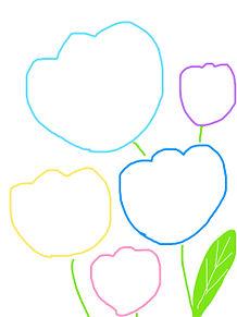 シンプソンズ メイク おしゃれ 背景 素材 誕生日の画像(プリ画像)